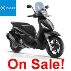 PIAGGIO BV 350 BEVERLY E4 - NERO CARBINO ONLY -