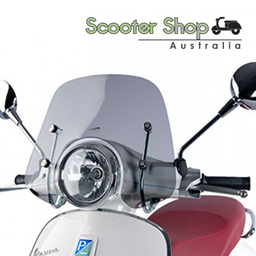 VESPA Primavera Smoked Windscreen