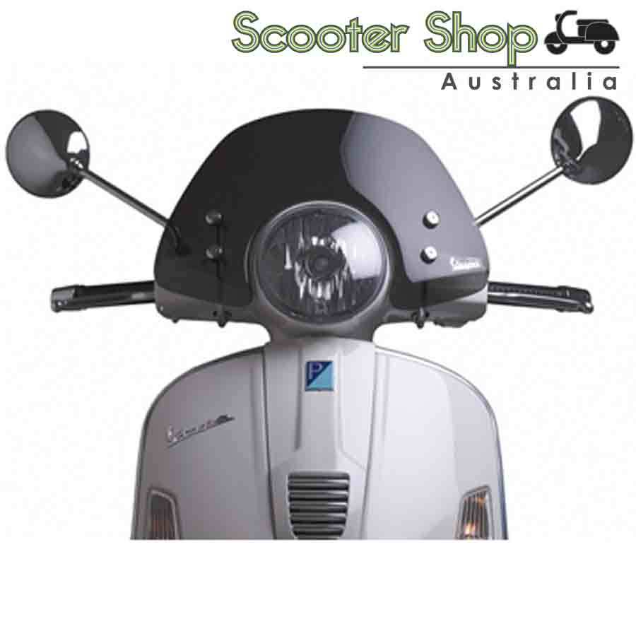 Vespa GTS Short Smoke Windscreen