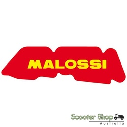 MALOSSI RED SPONGE AIR FILTER PIAGGIO TYPHOON / ZIP & VESPA LX (S) 2T