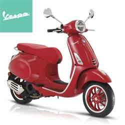 VESPA PRIMAVERA 150 (RED) LTD EDITION