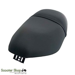 piaggio zip seat cover BLACK