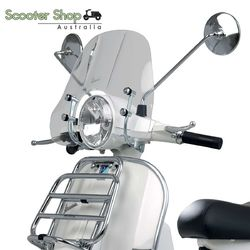 Vespa Genuine Short Clear Flyscreen for PX150