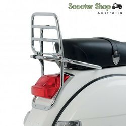 Vespa Genuine Chrome Rear Rack for Px