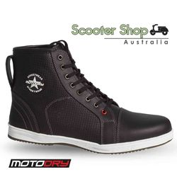 MotoDry Urban Air Black Boots