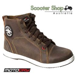 Motodry Urban Air Brown Boots