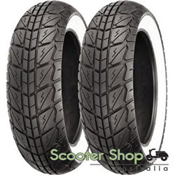 SHINKO WHITE WALL PAIR 120/70/12