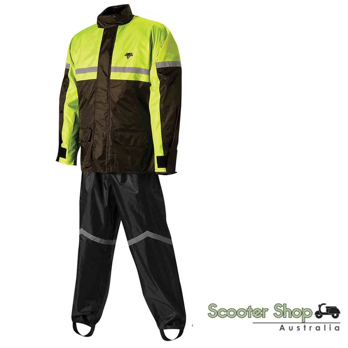 Nelson Rigg SR-6000 Storm Rider Motorcycle Rain Suit [Size: Large]