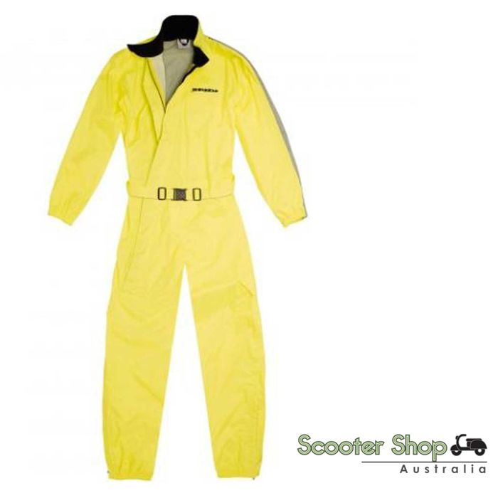 SPIDI Rain Flux High Vis Suit Large